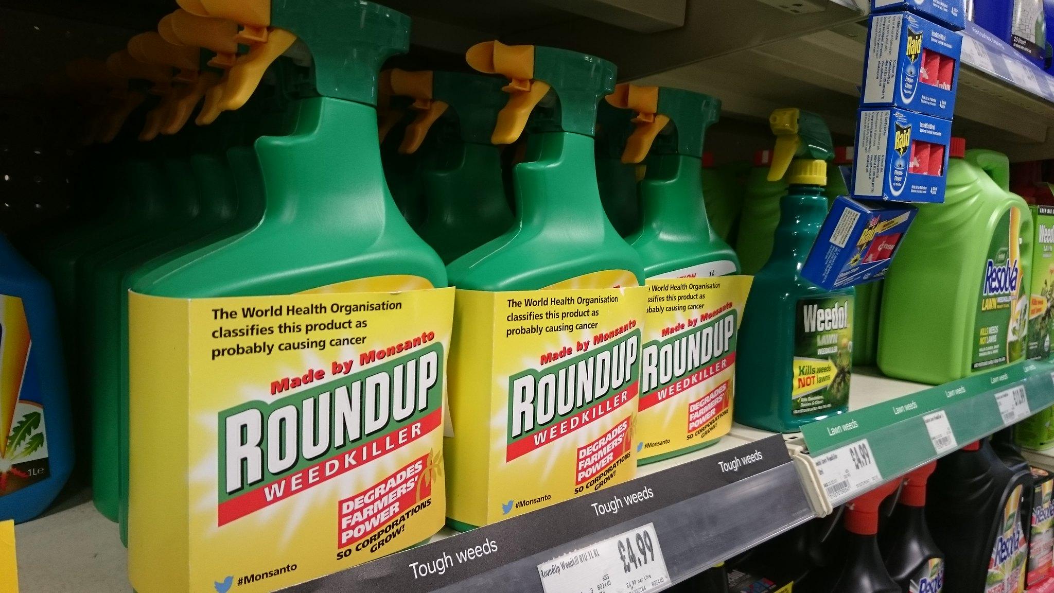 Roundup in winkelschap